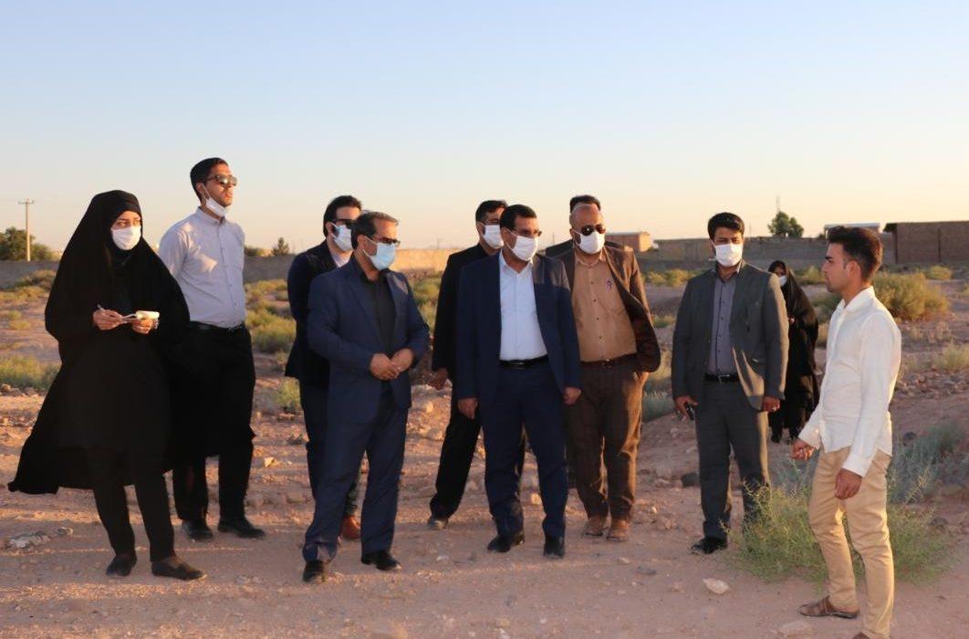 بازدید رییس کل و معاون اجتماعی دادگستری از شهرک های حاشیه ای کرمان