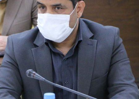 بازدید سرزده معاون اجتماعی و پیشگیری از وقوع جرم دادگستری کرمان از کمپ ماده ۱۶ بم